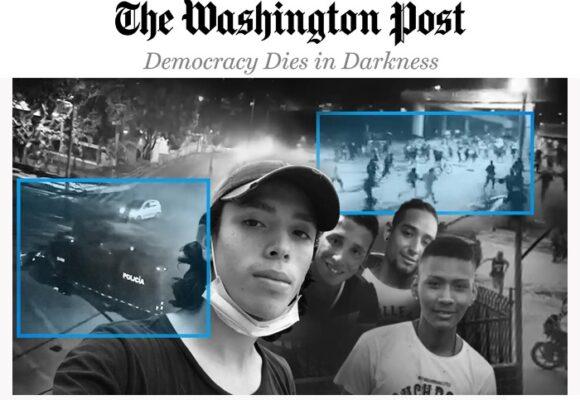 Las pruebas que publicó The Washington Post de 4 asesinatos en las protestas