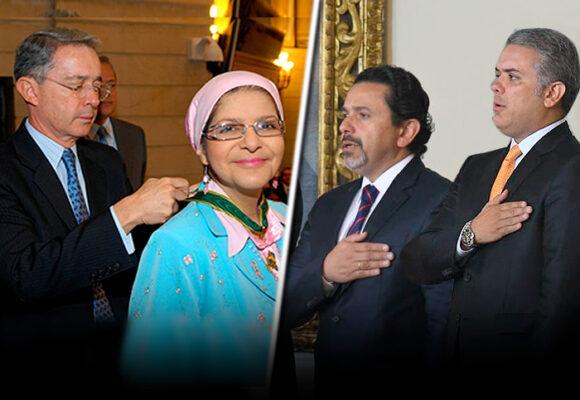 Sandra Ceballos, lahermana del Comisionado de Paz, que le abrió el camino al uribismo