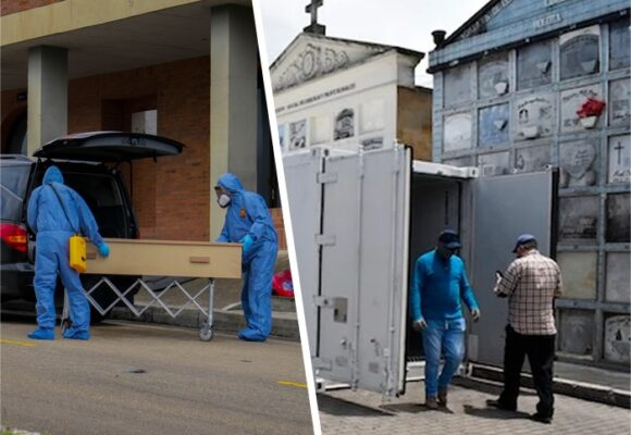 Bogotá empieza a copar los congeladores por congestión de hornos crematorios