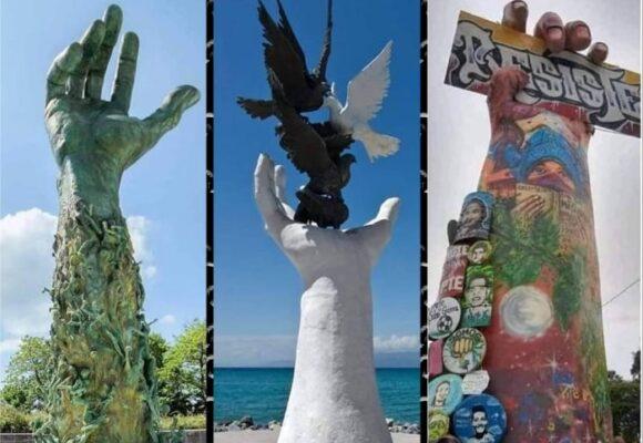"""Las esculturas que inspiraron el """"Monumento de la Resistencia"""" en Cali"""