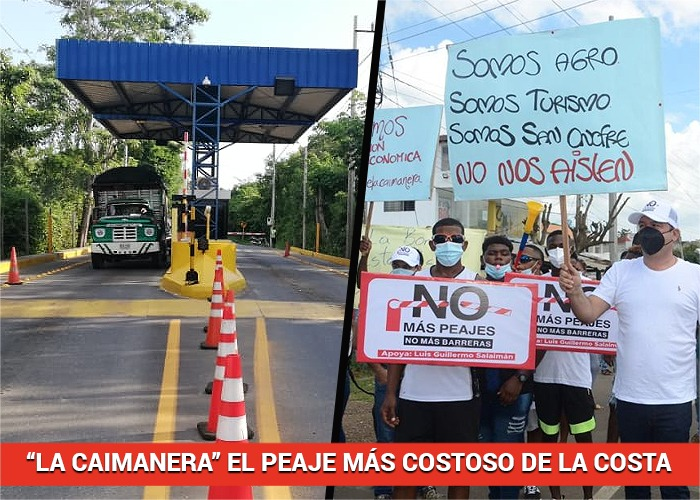 El escandaloso peaje entre Tolú y Coveñas tiene furiosos a los miles de conductores