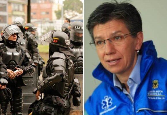 Ni los funcionarios de Claudia se salvan: La agresión de la policía a miembros de la Alcaldía