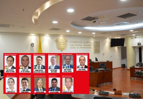 Los 11 congresistas que no votaron proyecto anti-Fracking hundido por falta de quorum