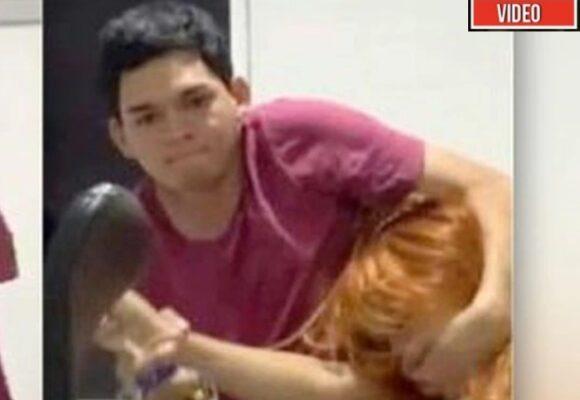VIDEO: Hombre intenta violar a joven estudiante en su casa