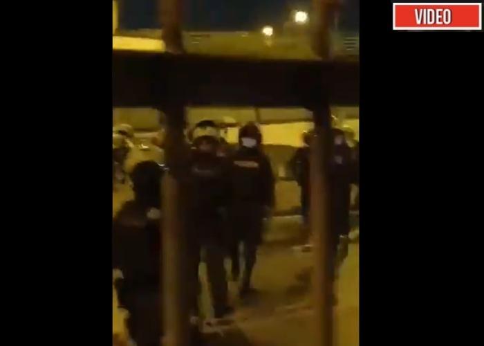 VIDEO: La furia de un grupo de policías por ser grabados en Cali