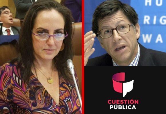 El ataque de María Fernanda Cabal a HRW y Cuestión Publica