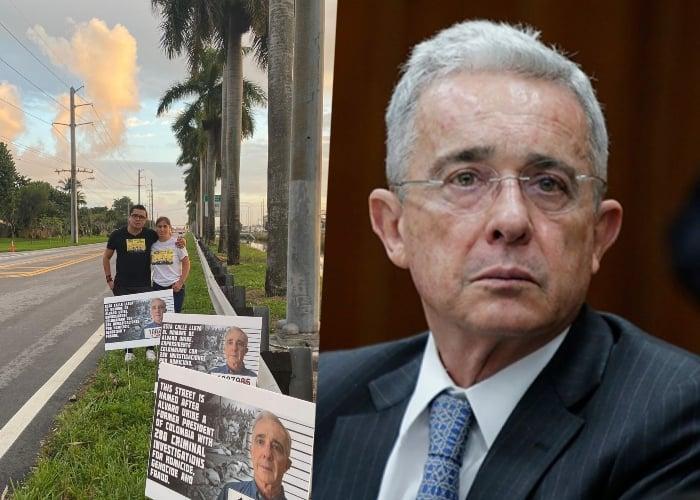 Se le acabó la fiesta a Álvaro Uribe en Miami