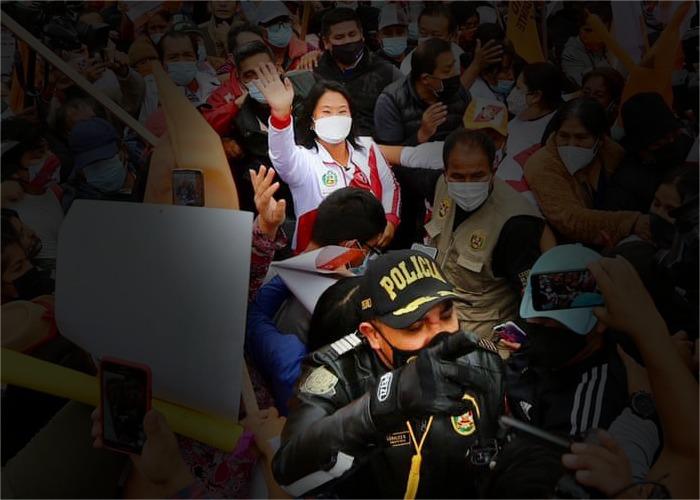 Día clave para Keiko Fujimori: podría terminar en la cárcel
