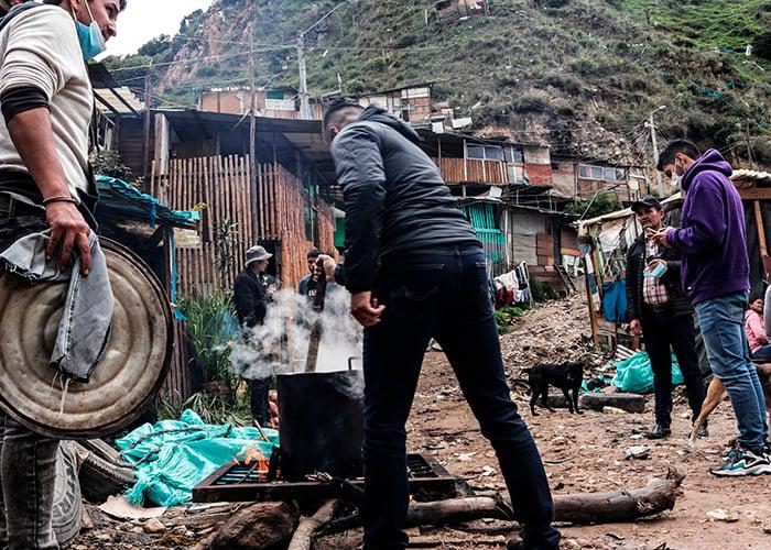 Así viven los pobres más pobres de Bogotá