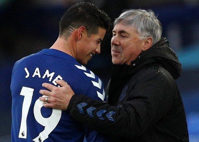 Ancelotti, el único que se aguanta las niñerías de James: lo quiere si o si en el Real Madrid