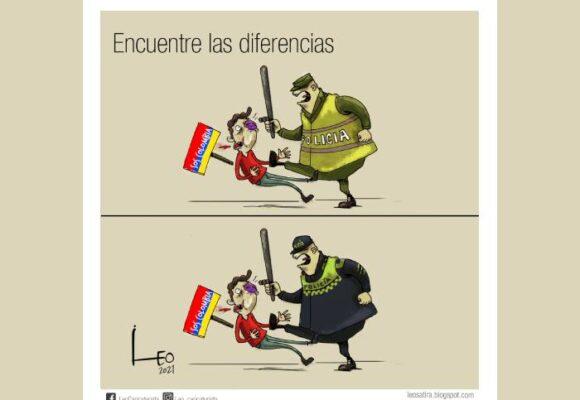 Caricatura: Encuentre las diferencias
