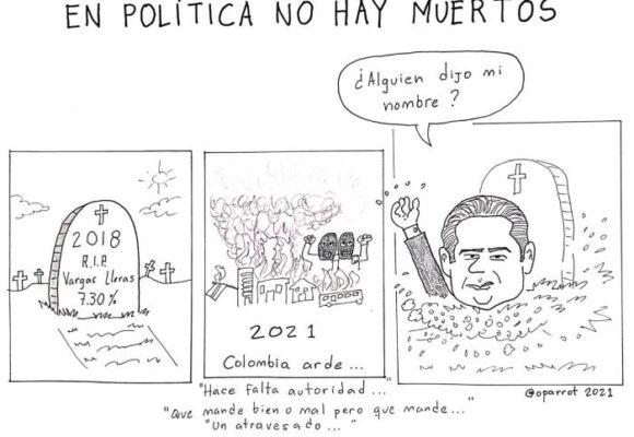 Caricatura: En política no hay muertos