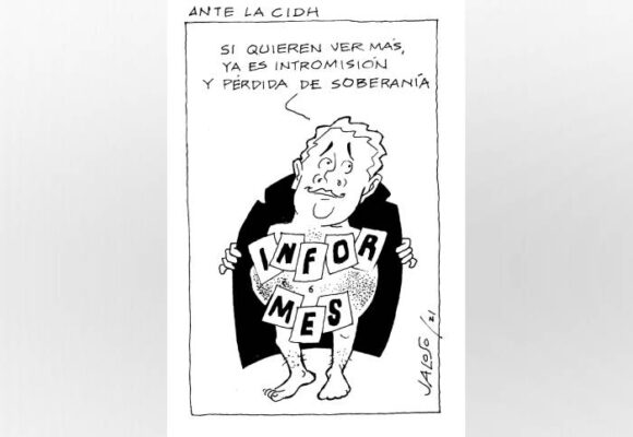 Caricatura: Ante la CIDH