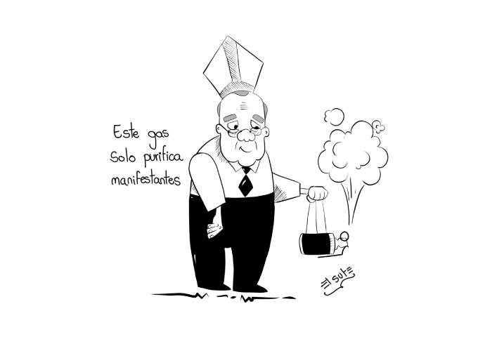Caricatura: Inciensos