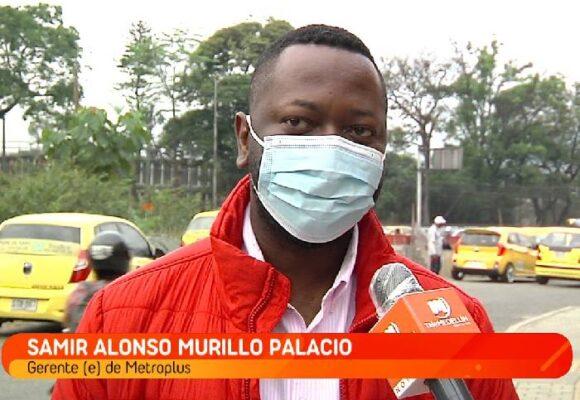 Hablemos de Samir Alonso Murillo Palacios, secretario general de Metroplús