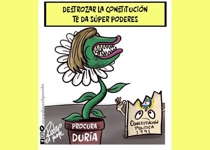 Caricatura: De la reforma a la Procuraduría