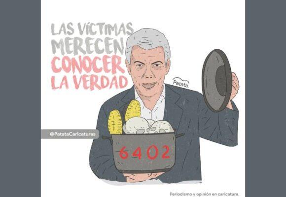 Caricatura: Santos, ante la verdad