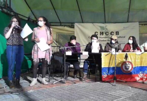 El Corredor Humanitario y Cultural de Ciudad Bolívar se pronunció