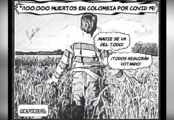Caricatura: Nadie se va del todo