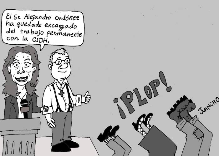 Caricatura: Alejandro Ordóñez y la CIDH, otra vez el chiste se cuenta solo
