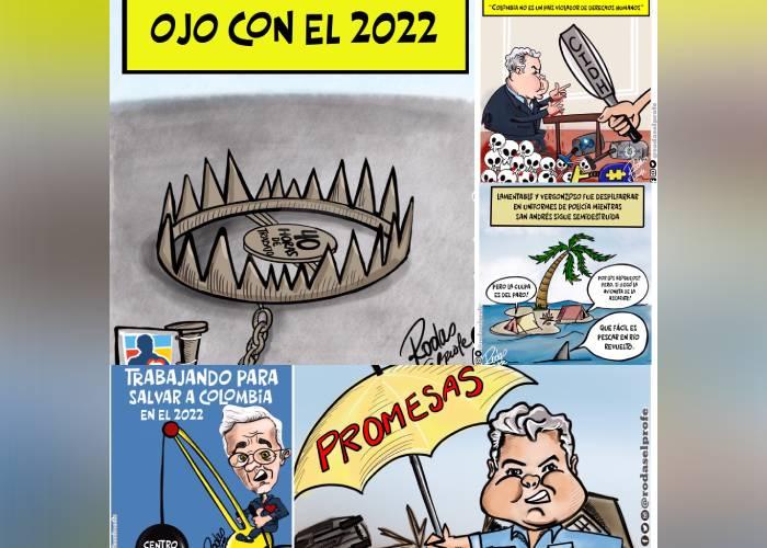 Caricatura: Si el gobierno no cambia, debemos cambiar al gobierno