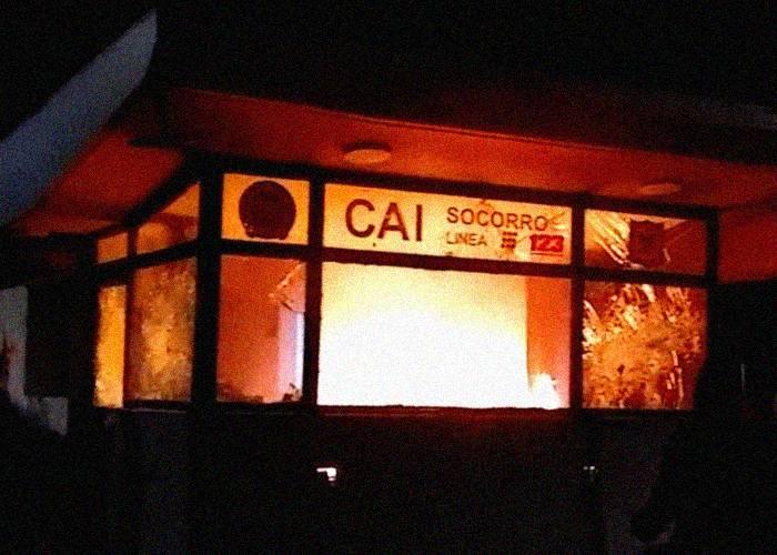 Uno de cada cuatro CAI han sido vandalizados durante las protestas