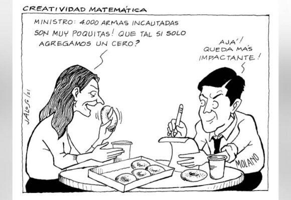 Caricatura: Creatividad matemática