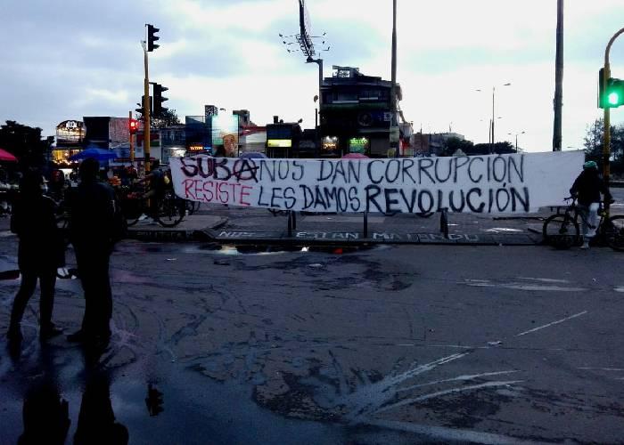 De las protestas y los bloqueos en Colombia