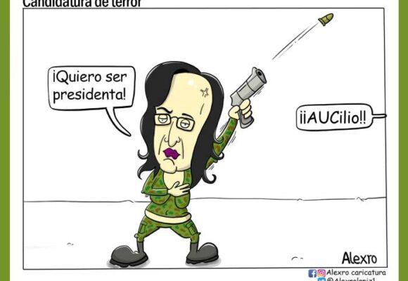 Caricatura: Candidatura de terror