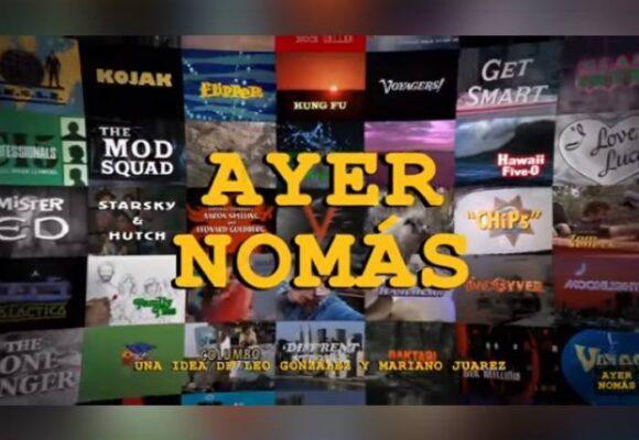 Ayer Nomás, el canal de YouTube con recordadas series clásicas de televisión