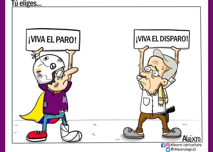 Caricatura: Tú eliges