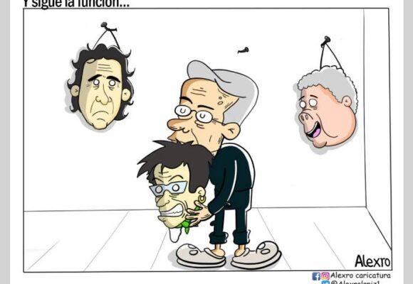 Caricatura: Y sigue la función