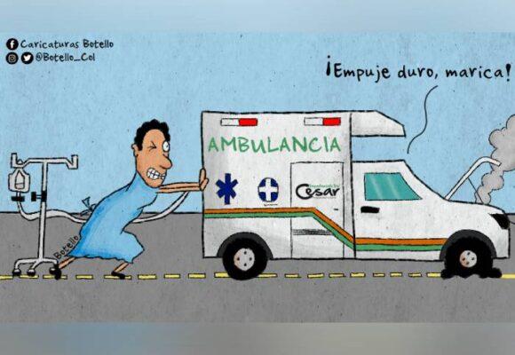 Caricatura: El negocio de las ambulancias