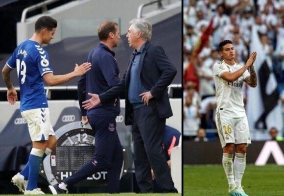 La poca dignidad de James: aceptaría reducir su salario para regresar al Madrid