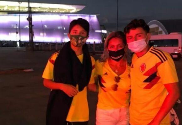 Los despistados hinchas que viajaron a ver a la Colombia en la Copa América