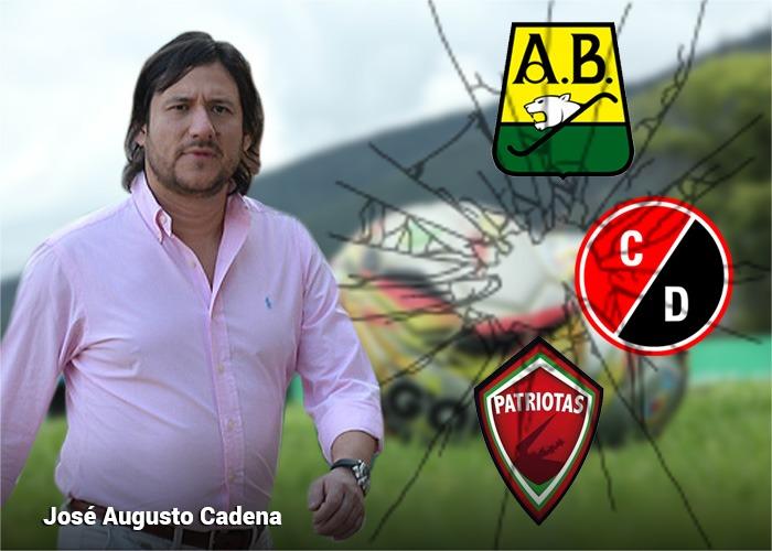 José Augusto Cadena, el destruye-equipos del futbol colombiano