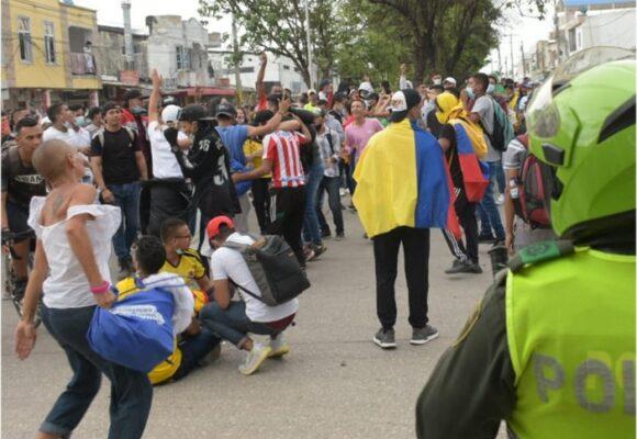Cuando es inmoral gritar un gol de Colombia