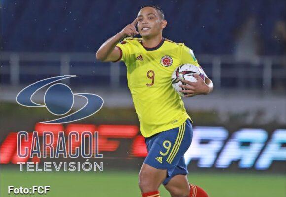 La selección Colombia es la única estrella que tiene el canal Caracol