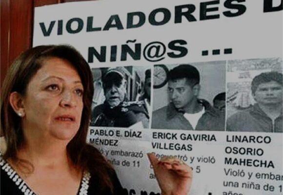 ¿Por qué Gilma Jiménez se obsesionó con ver a los violadores de niños en la cárcel de por vida?