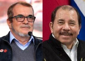 Timochenko en defensa de Ortega por presión de EEUU pero de la persecución a la oposición, ni una palabra