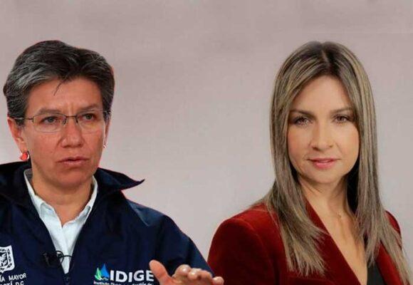 Petro se enfurece con Claudia López y la compara con Vicky Dávila