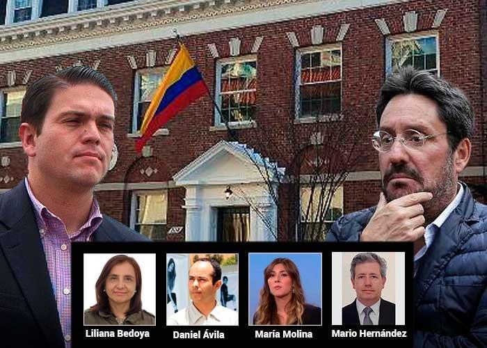 El equipo de Pacho Santos en Washington que Juan Carlos Pinzón va a cambiar