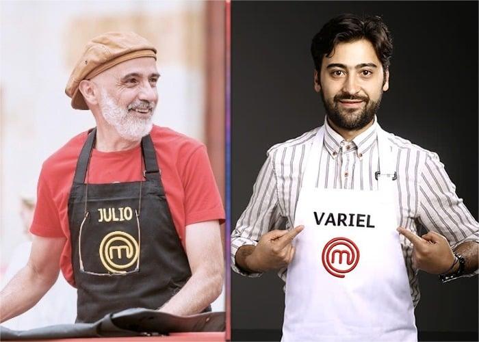 El fracaso de Julio Sánchez Cóccaro en MasterChef Celebrity: todo lo contrario a su hijo Variel