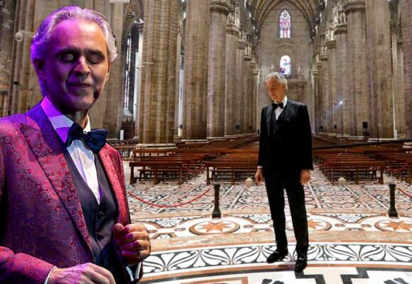 Un milagro italiano llamado Andrea Bocelli