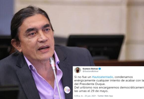 El infame trino del senador Gustavo Bolívar