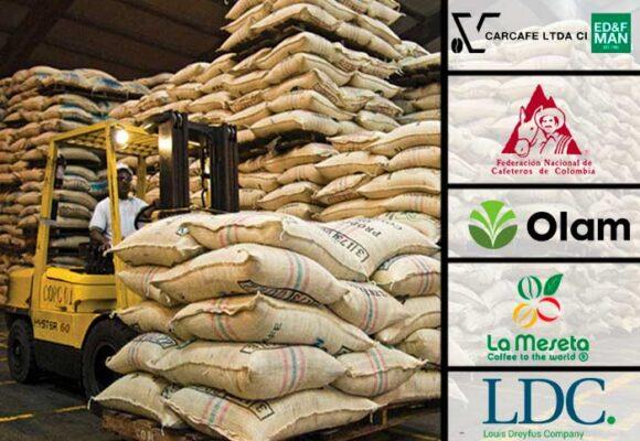 La seis grandes empresas exportadoras de café, la mitad son extranjeras