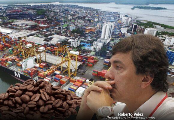 Miles de toneladas de café colombiano estancado en Buenaventura