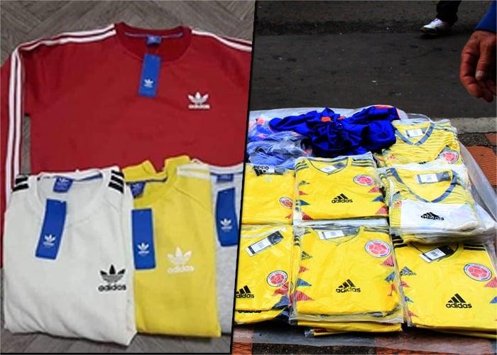 camisetas chiviadas de la Seleccion Colombia