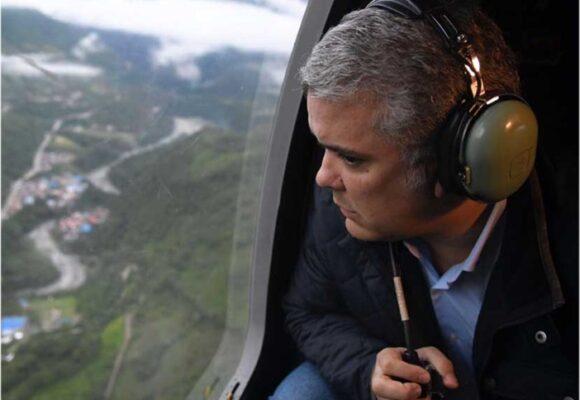 Ataque al helicóptero en que viajaba el Presidente, Mindefensa y Mininterior