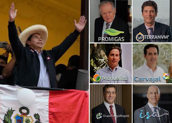 Poderosas empresas colombianas con inversiones en el Perú